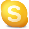 96x96px size png icon of Actions skype contact not available