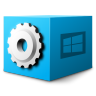 96x96px size png icon of Mimetypes application x ms dos executable