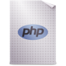 96x96px size png icon of Mimetypes application x php