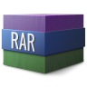 96x96px size png icon of Mimetypes rar