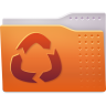 96x96px size png icon of Places folder backup