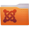 96x96px size png icon of Places folder joomla