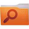 96x96px size png icon of Places folder saved search