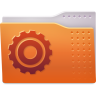 96x96px size png icon of Places folder system