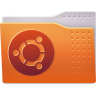 96x96px size png icon of Places folder ubuntu