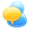 96x96px size png icon of Chat