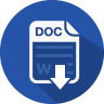 96x96px size png icon of word doc