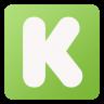 96x96px size png icon of Kickstarter