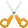 96x96px size png icon of cut