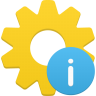 96x96px size png icon of process info