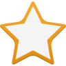 96x96px size png icon of star empty