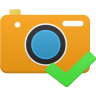 96x96px size png icon of camera accept