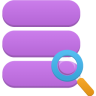 96x96px size png icon of data search