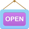 96x96px size png icon of Open