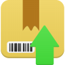 96x96px size png icon of Package upload