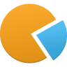 96x96px size png icon of Pie chart