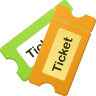 96x96px size png icon of Tickets