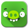 96x96px size png icon of Apps bad piggies