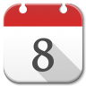 96x96px size png icon of Apps calendar