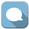 96x96px size png icon of Apps chat B