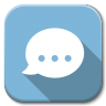 96x96px size png icon of Apps chat
