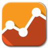 96x96px size png icon of Apps google analytics