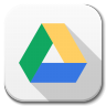 96x96px size png icon of Apps google drive