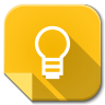 96x96px size png icon of Apps google keep