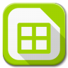 96x96px size png icon of Apps libreoffice calc