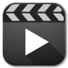 96x96px size png icon of Apps video player