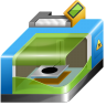 96x96px size png icon of 3D printer