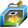 96x96px size png icon of 3D printing