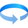 96x96px size png icon of Rotation