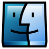 96x96px size png icon of Finder
