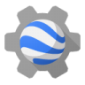 96x96px size png icon of earth engine