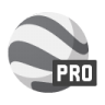 96x96px size png icon of earth pro