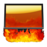 96x96px size png icon of Hell Computer