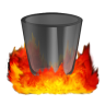96x96px size png icon of Hell TrashEmpty