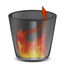 96x96px size png icon of HellLess TrashFull