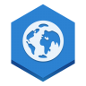 96x96px size png icon of browser