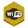 96x96px size png icon of wifi