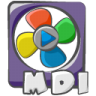 96x96px size png icon of filetype movie mdi