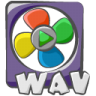 96x96px size png icon of filetype movie wav