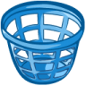 96x96px size png icon of trash basket