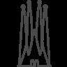 96x96px size png icon of barcelona sagrada