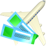 96x96px size png icon of Air tickets