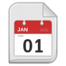 96x96px size png icon of vcalendar