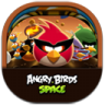 96x96px size png icon of angry birds space
