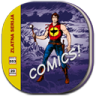 96x96px size png icon of comic book