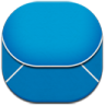 96x96px size png icon of email blue